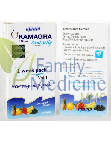 Kamagra Oral Jelly (Kamagra Jelly) 100mg