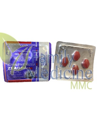 Zeagra red 100mg
