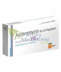 Azithromycin (Generic Zithromax) 250mg
