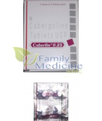 Caberlin (Dostinex) 0.25mg