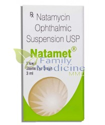 Natamet (Natamycin Ophthalmic) 3ml