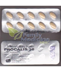Procalis (Generic Cialis) 20mg
