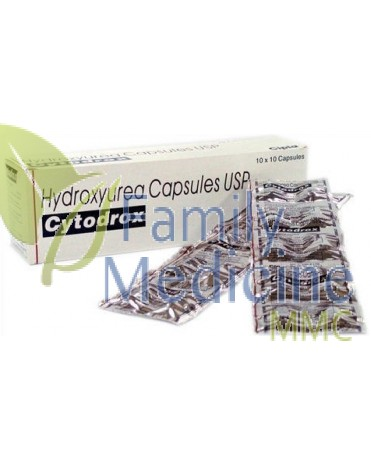 Cytodrox (Generic Hydrea / Droxia) 500mg