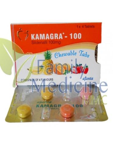 Kamagra chewable flavored 100mg