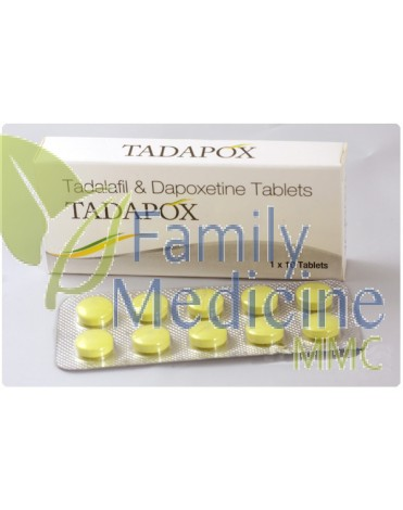 Tadapox (Generic Priligy) 20mg + 60mg