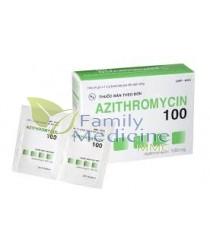 Azithromycin (Generic Zithromax) 100mg