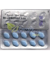Blueberry (Generic Viagra) 100mg