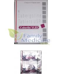 Caberlin (Dostinex) 0.25mg