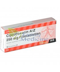Ciprofloxacin (Generic Cipro) 250mg