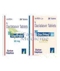 DACIHEP / DACLAHEP (Generic Daklinza) 60mg / 30mg