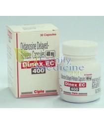 Dinex EC (Generic Videx) 400mg