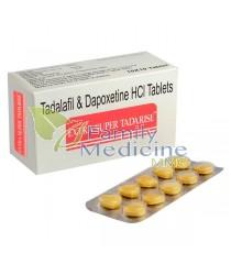 Extra Super Tadarise (Tadalafil + Depoxetine) 40+60mg