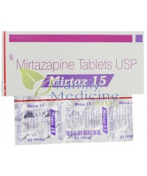 Mirtaz (Remeron) 15mg