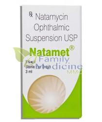 Natamet (Natamycin Ophthalmic) 3ml