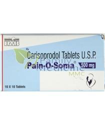Pain-O-Soma (Generic Soma) 500mg