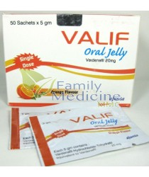 Valif Oral Jelly (Generic Viagra) 20mg